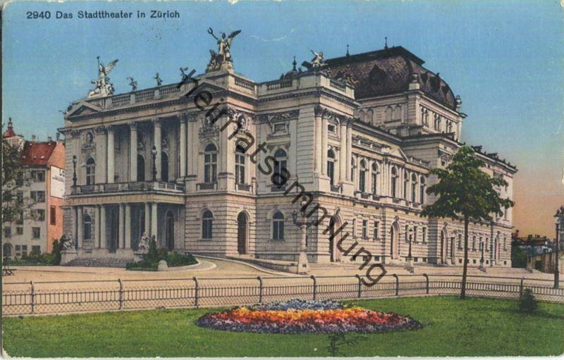 Zürich - Stadttheater - Wehrli-Verlag Kilchberg b. Zürich