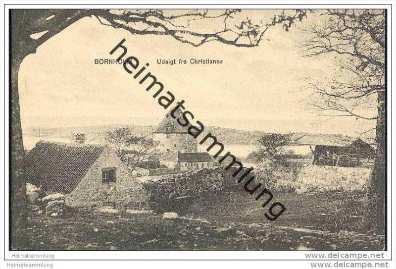 Bornholm - Udsigt fra Christianso