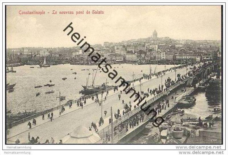 Constantinople - Le nouveau Pont de Galata