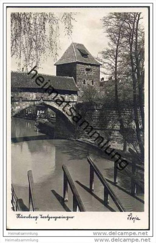 Nürnberg - Tratzenzwinger - Foto-AK