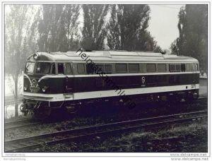 China Lokomotive NY 7 0029 - Henschel - Foto 13cm x 18cm 60er Jahre