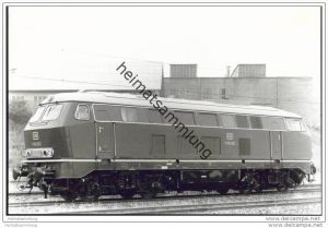 Lokomotive V160 093 - Foto 12cm x 17cm 60er Jahre