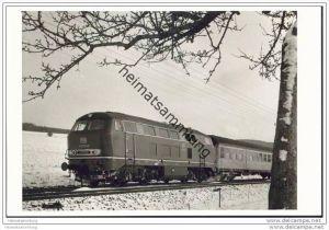 Lokomotive V160 048 - Foto 12cm x 17cm 60er Jahre