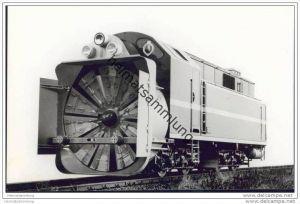 Schneeschleuder - Foto 11cm x 17cm 60er Jahre