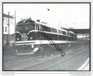 China Lokomotive NY 6 0008 - Henschel - Foto 9cm x 12cm 60er Jahre