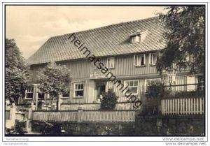 Trautenstein - Hotel Bergeshöh - Foto-AK