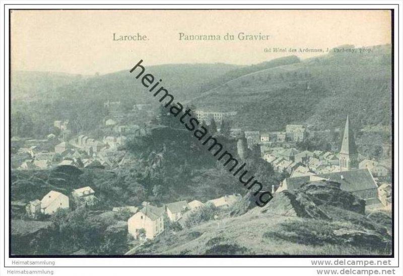 La Roche-en-Ardenne - Province de Luxembourg - Panorama de Gravier