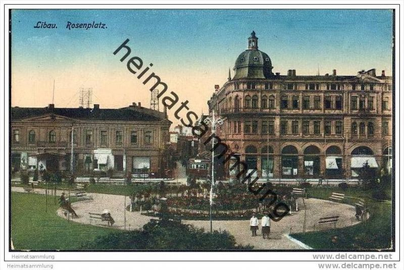 Liepaja - Libau - Rosenplatz