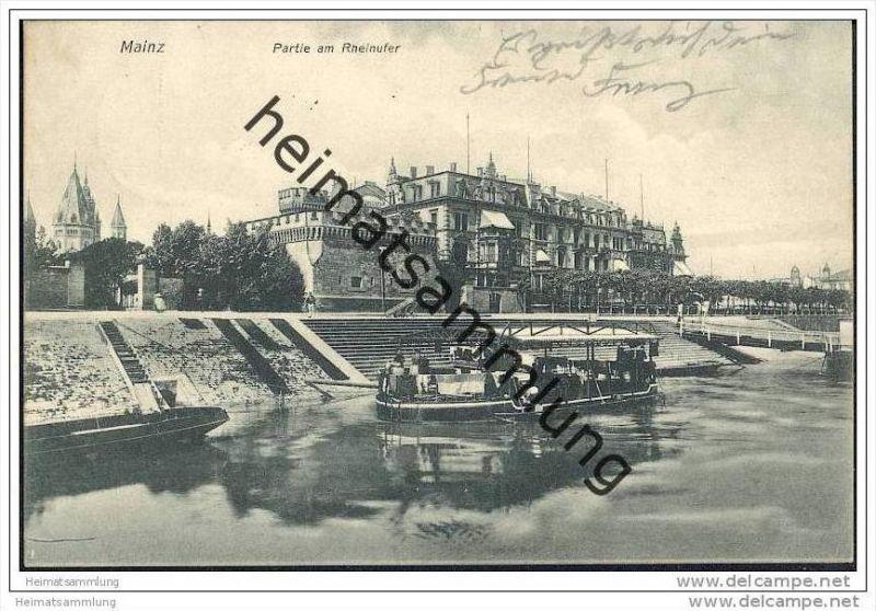 Mainz - Rheinufer