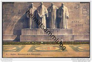 Genève - Genf - Monument de la Reformation - Reformationsdenkmal