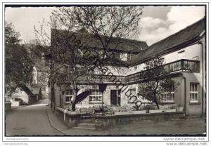 Lindenfels i. Odw. - Altes Rauch'sches Haus - Gasthaus und Pension Besitzer Heinrich Rauch - Foto-AK