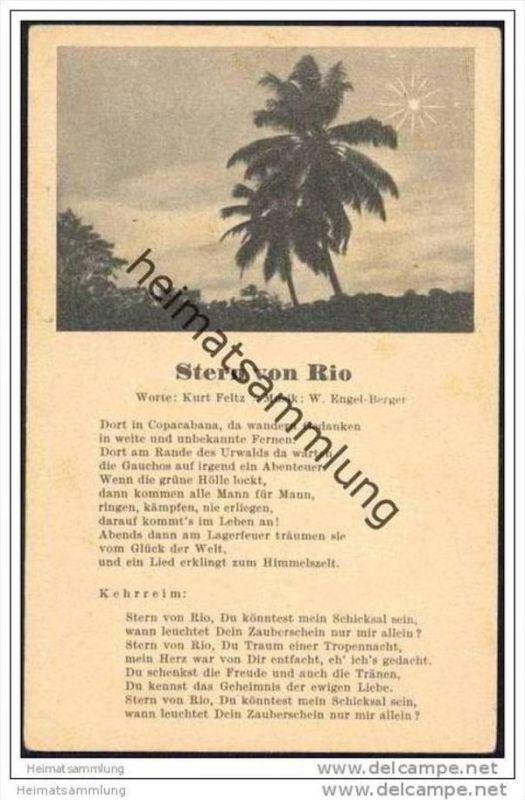 Stern von Rio - Worte Kurt Feltz - Musik W. Engel-Berger