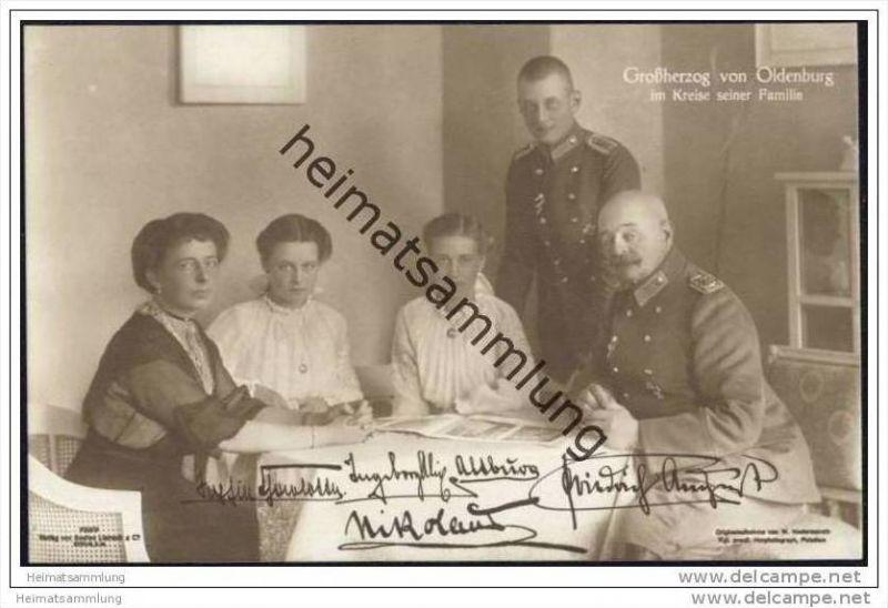 Grossherzog Von Oldenburg Im Kreise Seiner Familie Nr 611790700