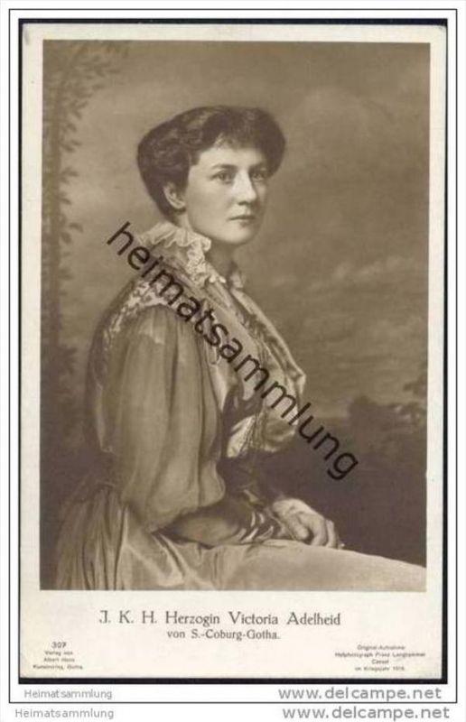 Herzogin Victoria Adelheid von Sachsen-Coburg-Gotha