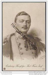 Österreich - Erzherzog Thronfolger Carl Franz Josef