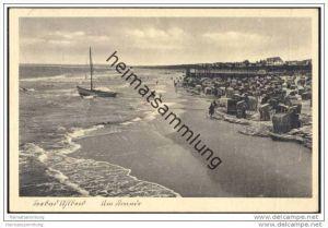 Seebad Ahlbeck - Am Strande
