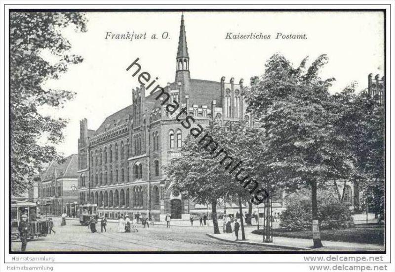 Frankfurt / Oder - Kaiserliches Postamt