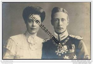 Kronprinz Wilhelm von Preussen und Kronprinzessin Cecilie