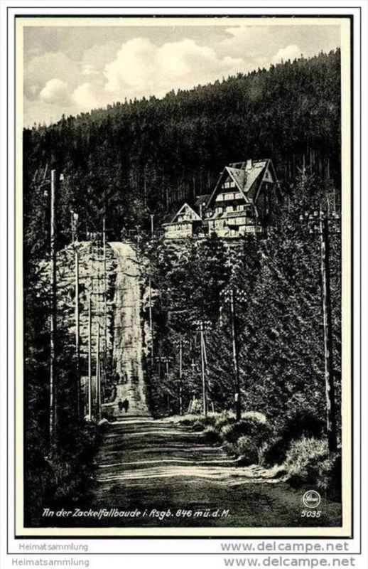 Zackelfallbaude - Riesengebirge
