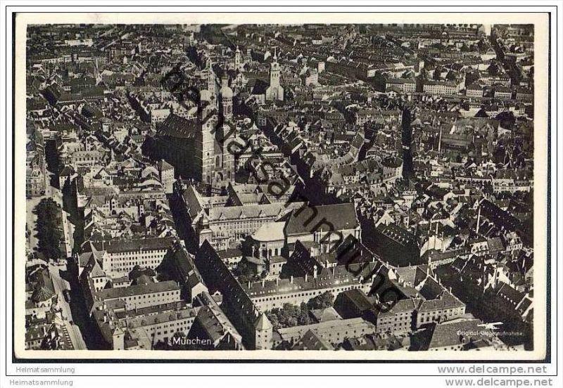 München - Fliegeraufnahme - Junkers Luftbild