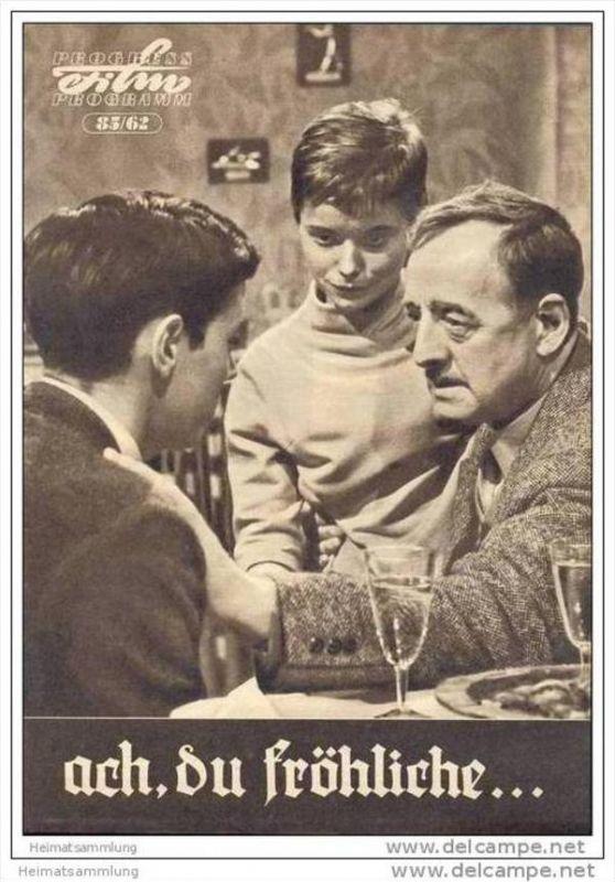 Progress-Filmprogramm 85/62 - ach du fröhliche...