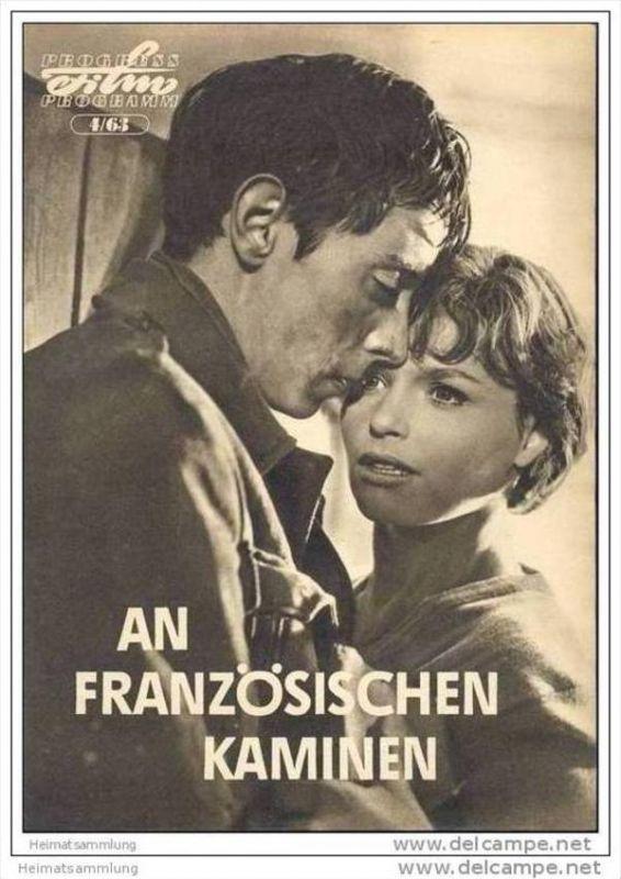 Progress-Filmprogramm 4/63 - An französischen Kaminen