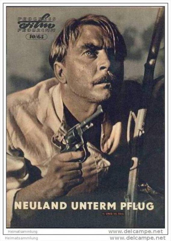 Progress-Filmprogramm 10/63 - Neuland unterm Pflug II. und III. Teil