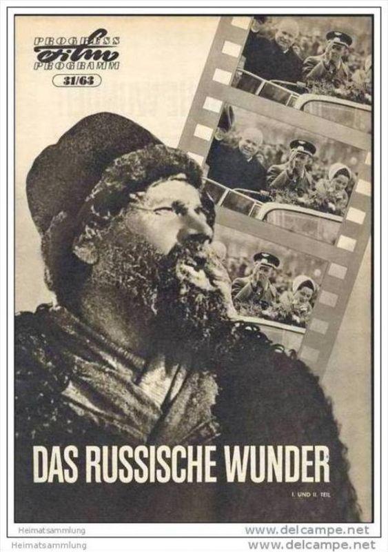 Progress-Filmprogramm 31/63 - Das russische Wunder I. und II. Teil