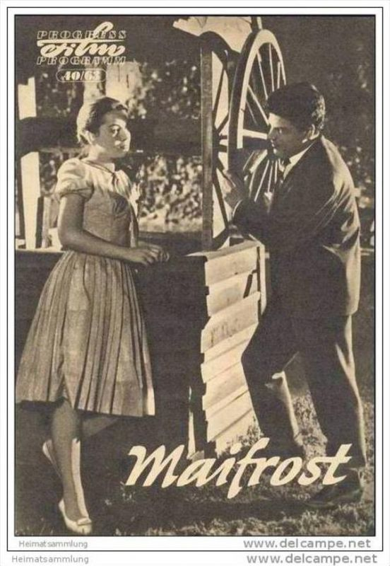 Progress-Filmprogramm 40/63 - Maifrost