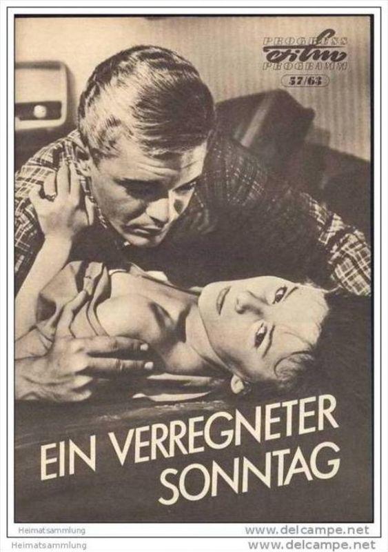 Progress-Filmprogramm 57/63 - Ein verregneter Sonntag