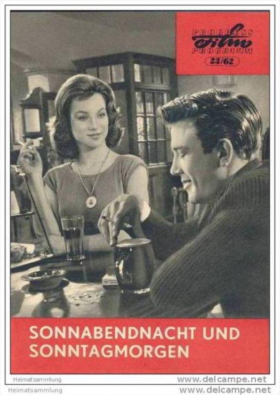 Progress-Filmprogramm 23/62 - Sonnabendnacht und Sonntagmorgen