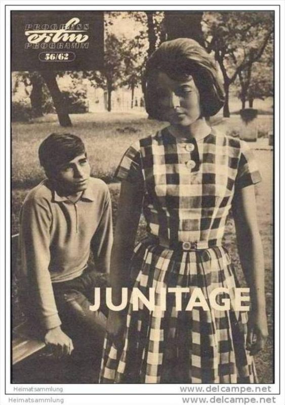 Progress-Filmprogramm 56/62 - Junitage