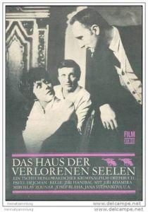 Film für Sie Progress-Filmprogramm 67/68 - Das Haus der verlorenen Seelen