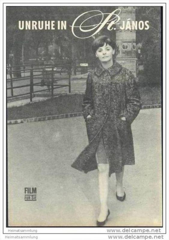 Film für Sie Progress-Filmprogramm 20/67 - Unruhe in St. Janos