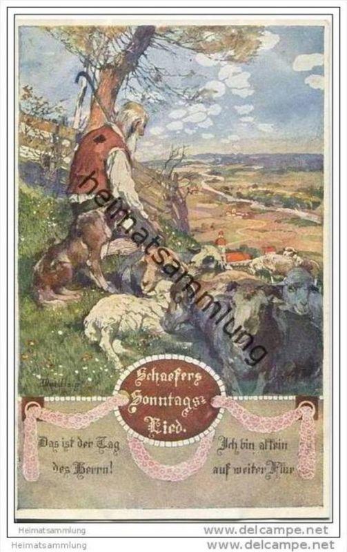 Schäfer - signiert Marussig - Bund der Deutschen in Böhmen