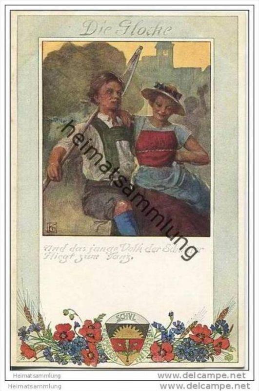 Bauer - Schnitter - Deutscher Schulverein - Lied von der Glocke