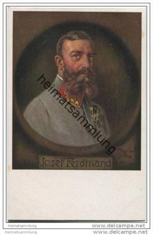 Josef Ferdinand - signiert Maxim Trübe