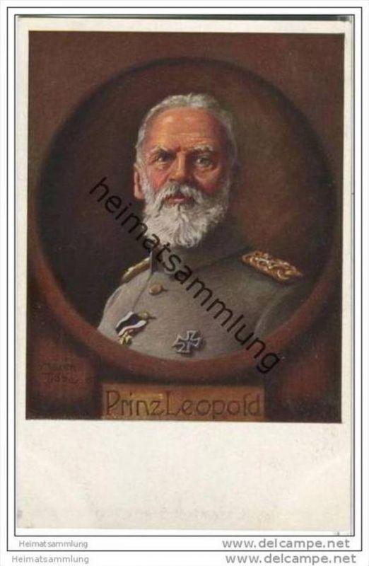 Prinz Leopold - signiert Maxim Trübe