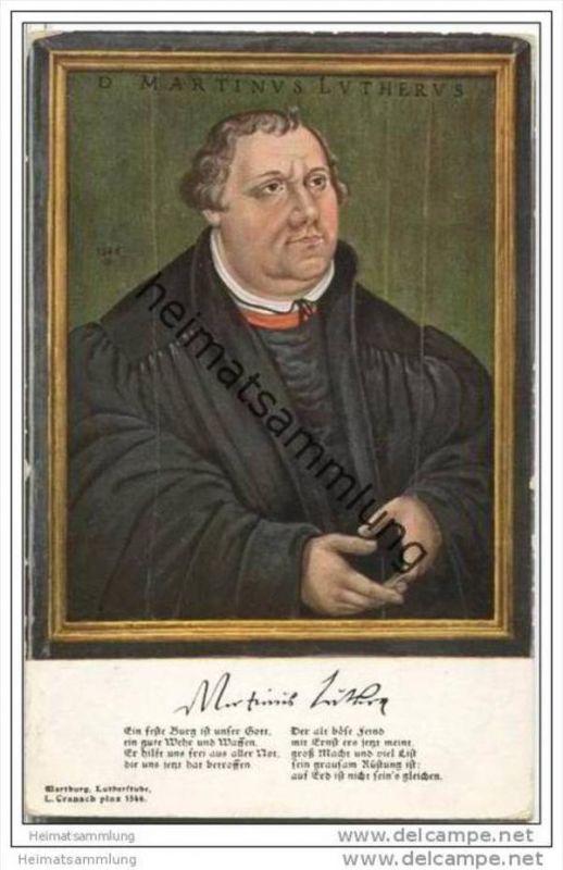 Martin Luther - von Cranach