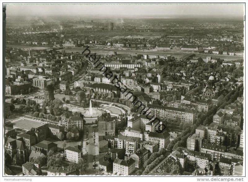 Mannheim - Luftaufnahme - Foto-AK