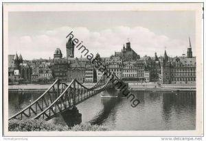 Frankfurt a. M. - Eisener Steg - Foto-AK