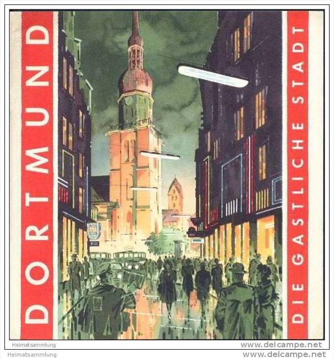 Dortmund 1954 - 36 Seiten mit 32 Abbildungen - Illustrationen von Karl Schiller