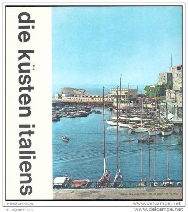 Die Küsten Italiens 60er Jahre - 32 Seiten mit über 50 Abbildungen