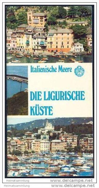 Die Ligurische Küste 60er Jahre - 52 Seiten mit über 60 Abbildungen