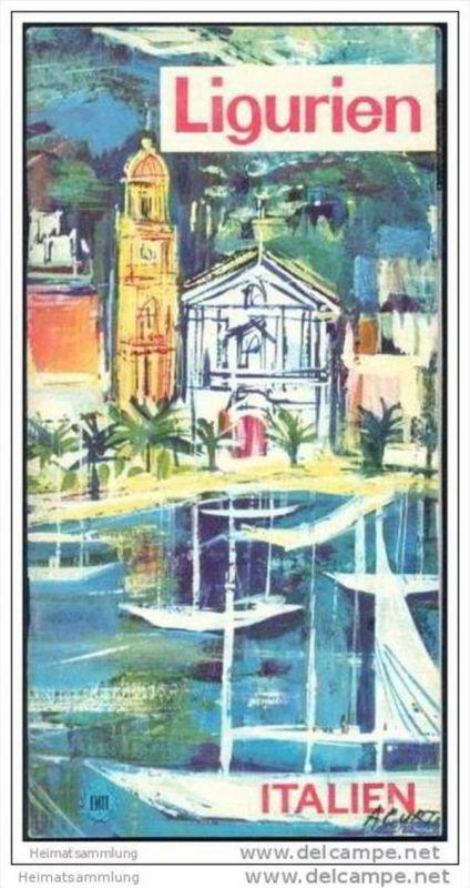 Ligurien 60er Jahre - 56 Seiten mit über 40 Abbildungen und mehreren Karten