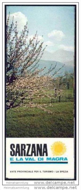 Sarzana 60er Jahre - Faltblatt mit 15 Abbildungen