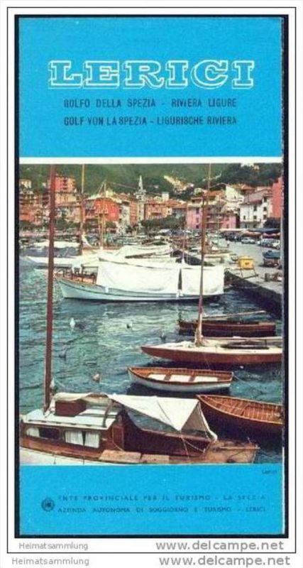 Lerici 60er Jahre - Faltblatt mit 8 Abbildungen