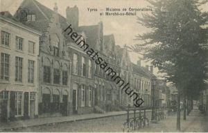 Ypres - Ieper - Maisons de Corporations et Marche au Betail
