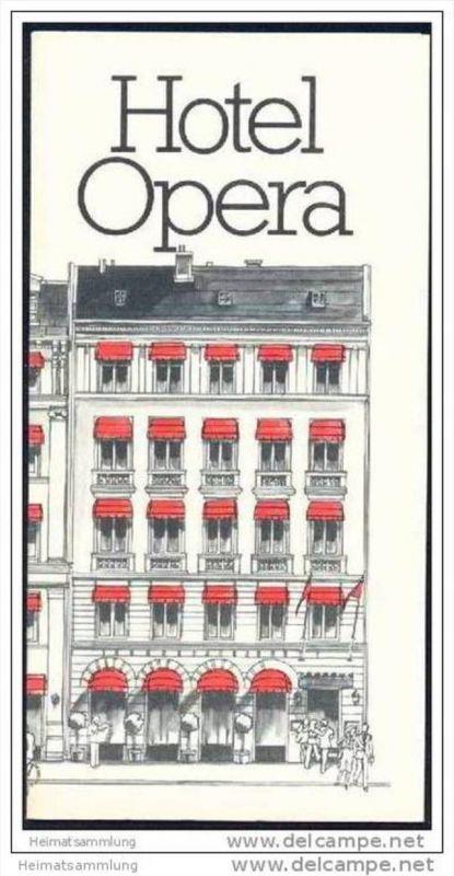Dänemark - Copenhagen - Hotel Opera - Faltblatt mit 11 Abbildungen