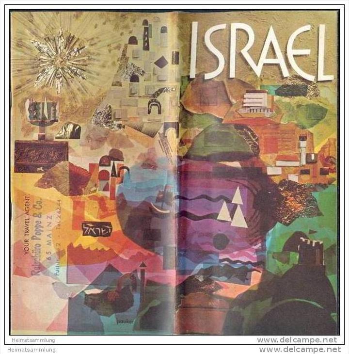 Israel 60er Jahre - 16 Seiten mit über 40 Abbildungen